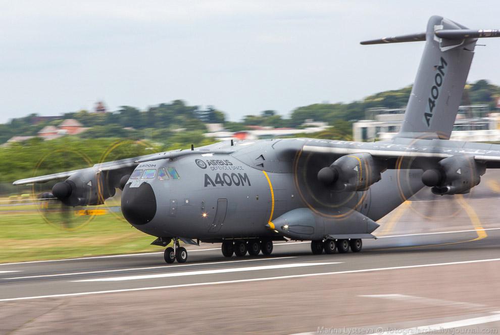 Четырёхмоторный турбовинтовой военно-транспортный самолёт А400М