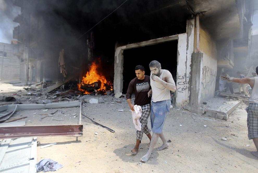 Южная часть сектора Газа