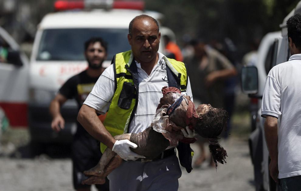 Погибшая девочка, Газа