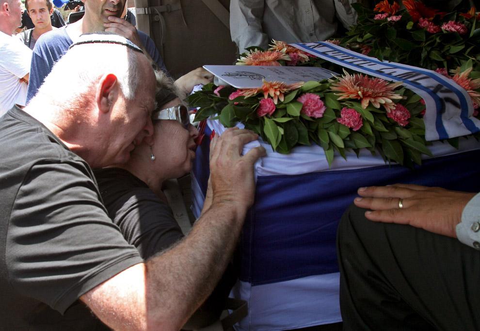 Похороны израильского солдата