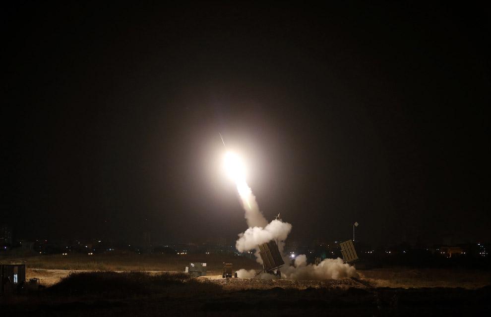 Снова система израильской противоракетной обороны «Железный купол»