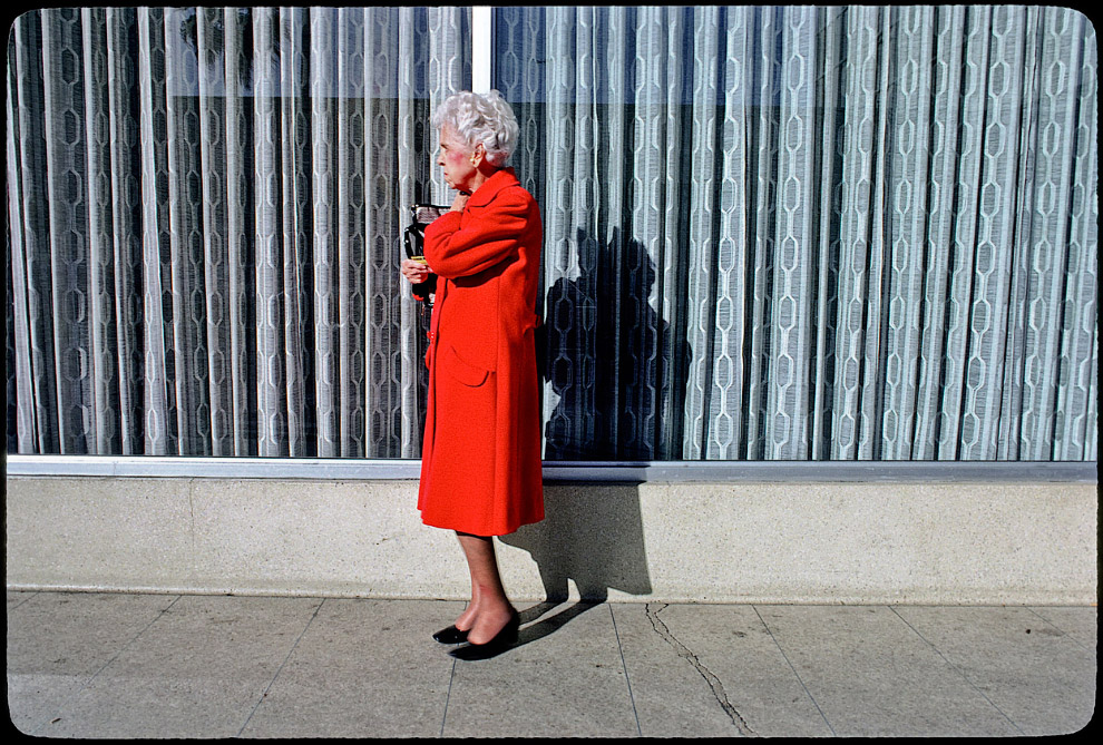 Модница на Голливудском бульваре