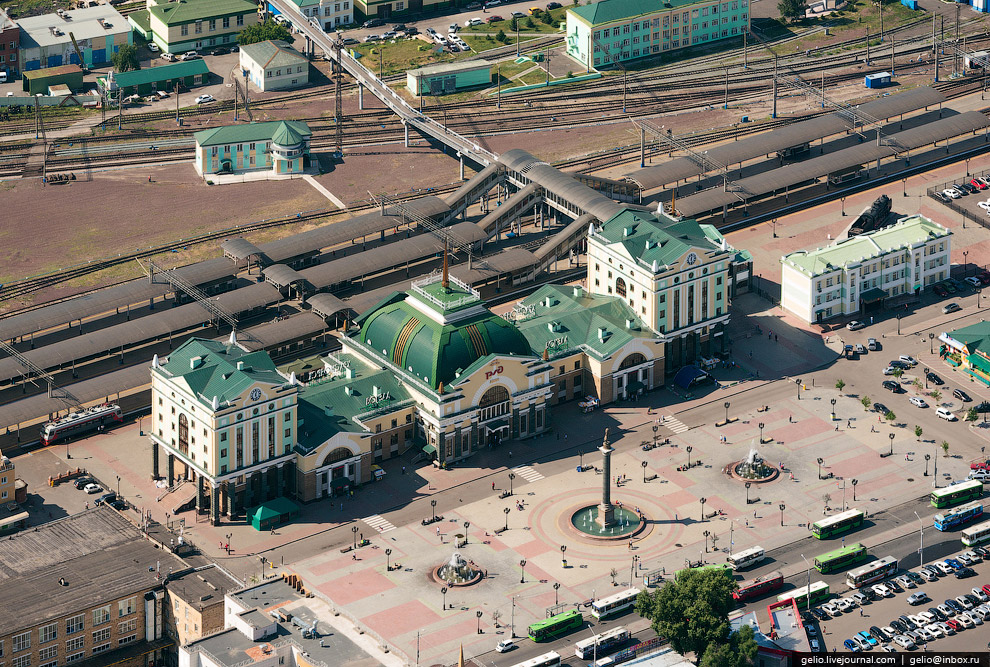 Железнодорожный вокзал Красноярск-Пассажирский