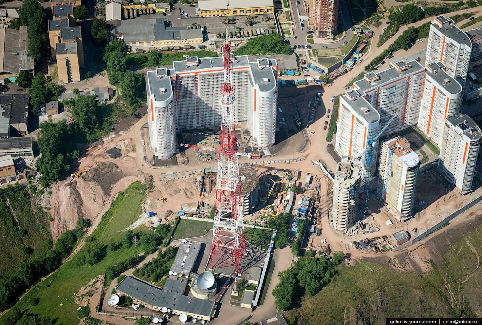 199-метровая телевизионная башня филиала ФГУП «РТРС»