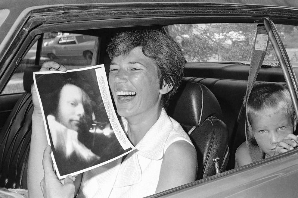 Жена Нила Армстронга