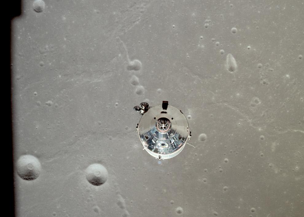 Спуск на поверхность Луны