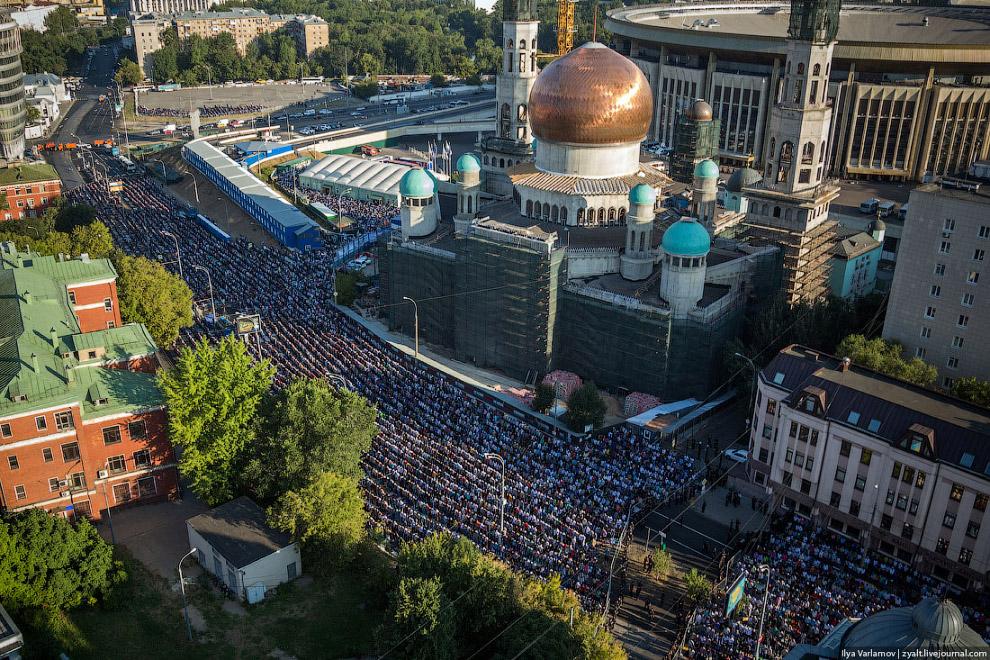 Праздник разговения в Москве
