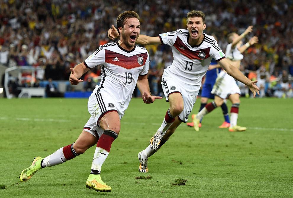 Сборная Германии стала 4-кратным чемпионом мира по футболу