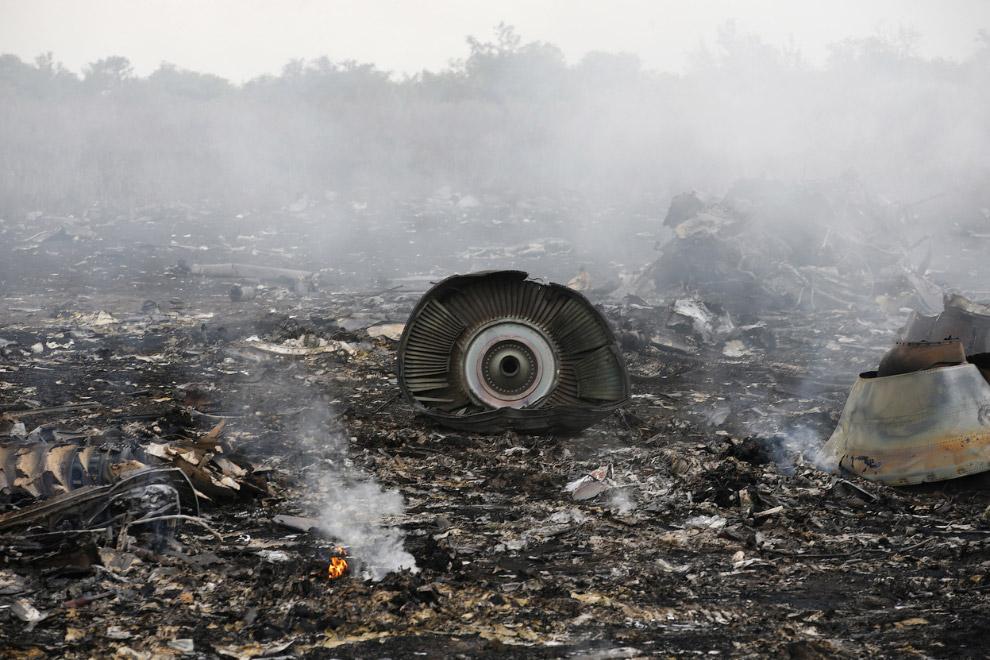 17 июня под Донецком был сбит малайзийский лайнер Boeing 777