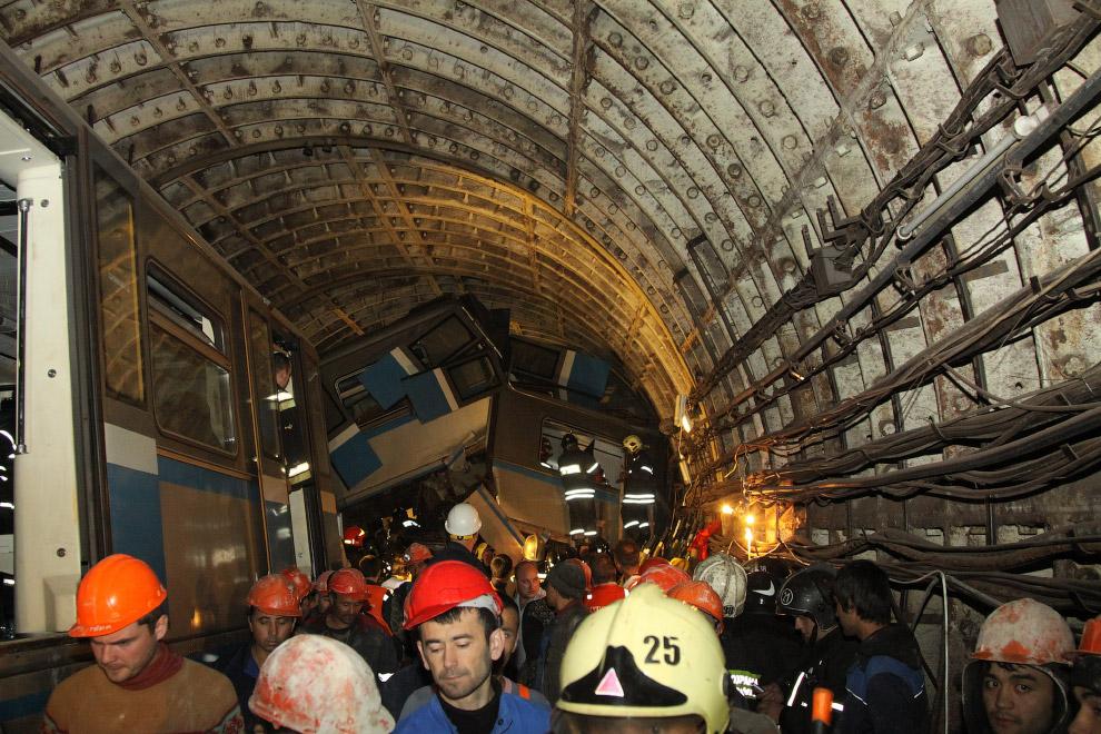 15 июля произошла крупнейшая за всю историю московского метро техногенная катастрофа