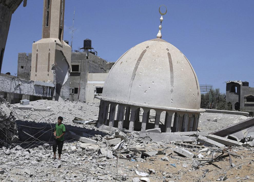 Остатки мечети