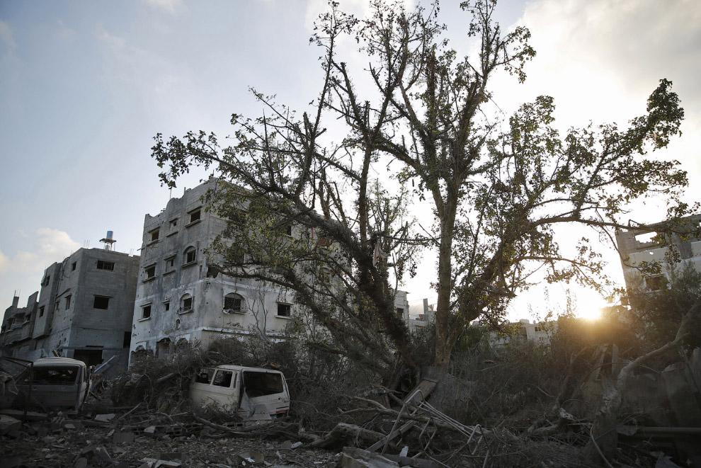 Утро в городе Газа