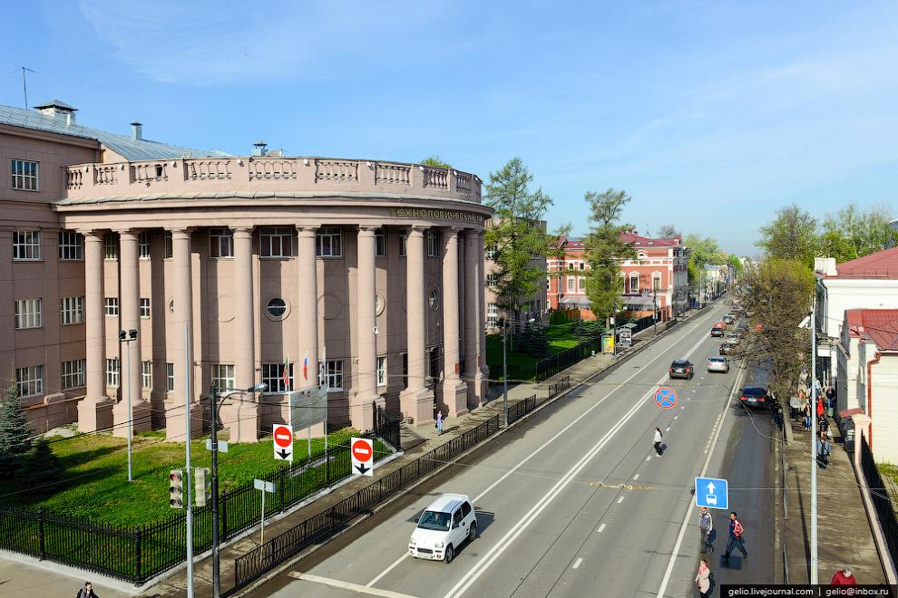 Главное здание Казанского государственного технологического университета им С.М. Кирова.