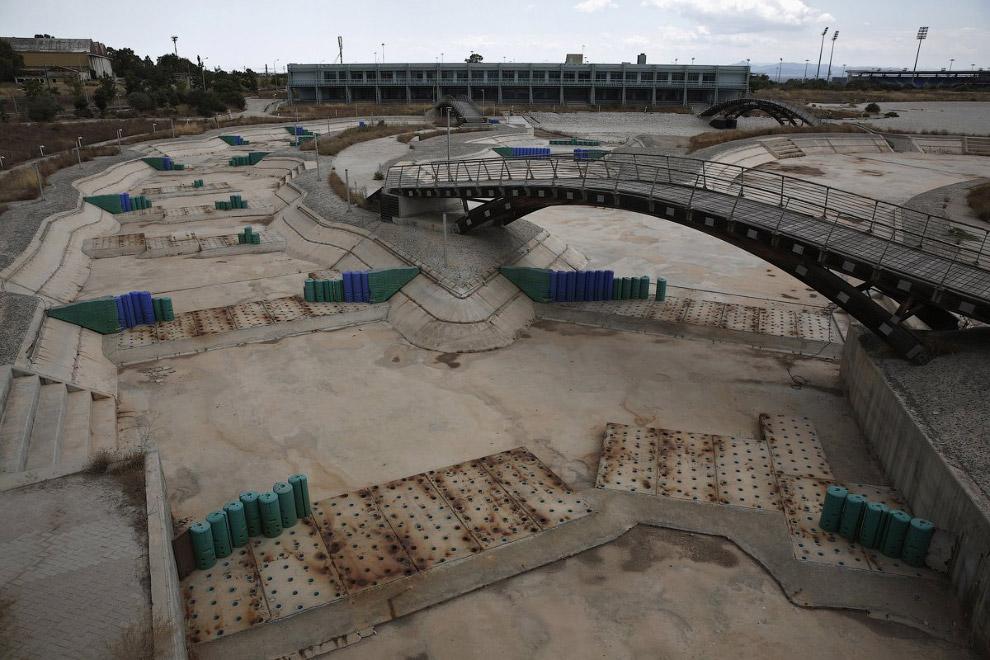 Это был первый олимпийский объект, который наполнялся соленой водой вместо пресной
