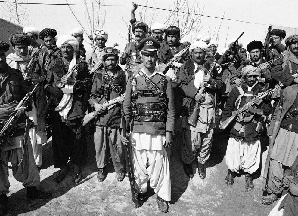 Моджахеды. Герат, Афганистан
