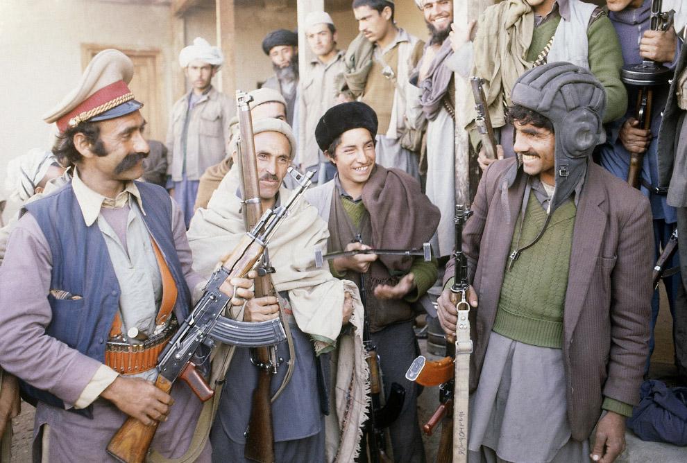 Отряд мусульманских повстанцев недалеко от Кабула