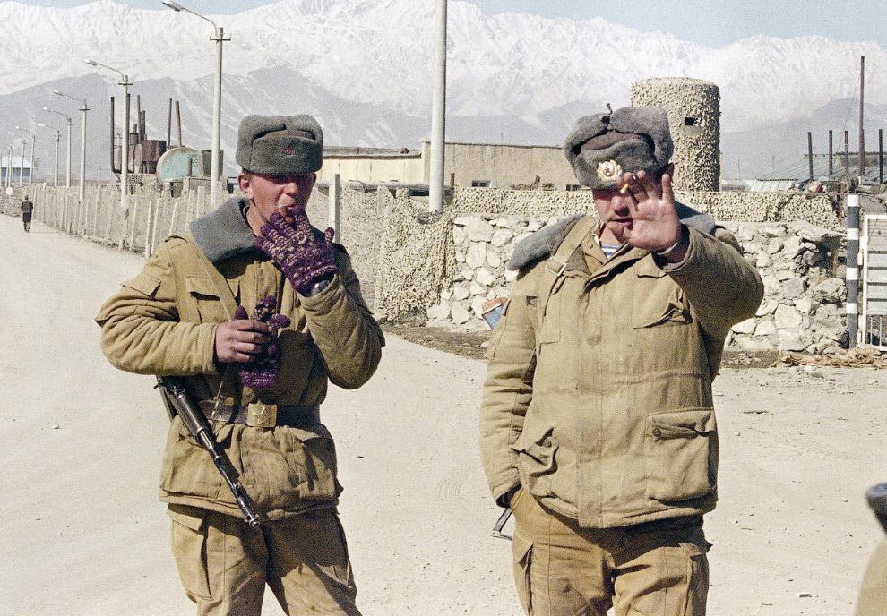 Советские солдаты в Кабуле