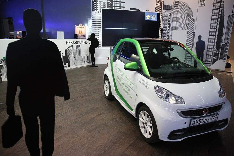 Электрокар от Smart