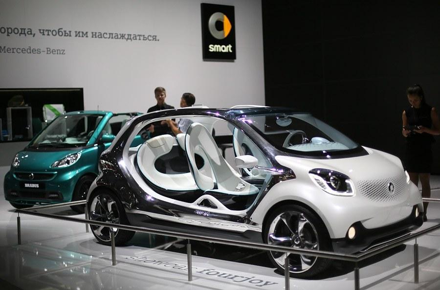 Концепт-кар Smart FourJoy