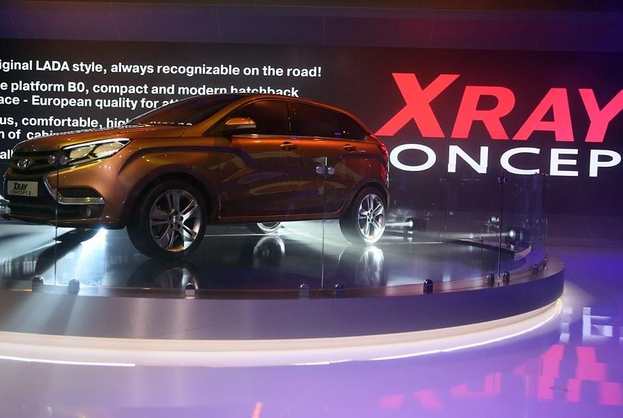 Концепт Lada Xray — главный экспонат стенда «АвтоВАЗа»