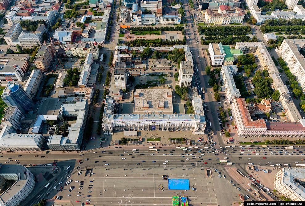 Площадь Революции — главная площадь Челябинска