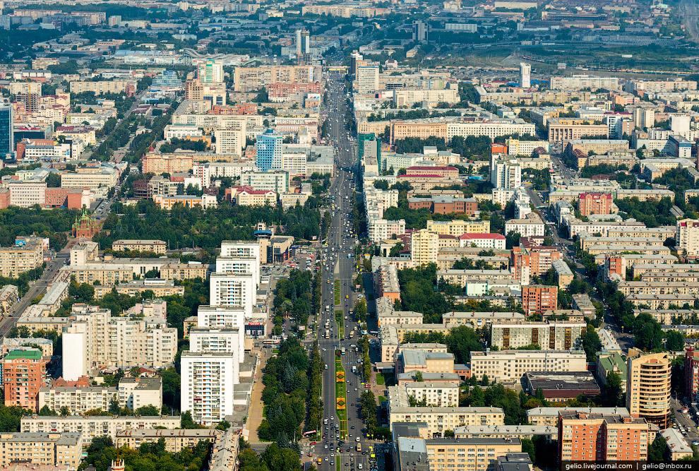 Проспект Ленина в Челябинске