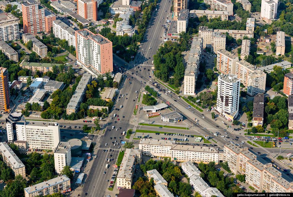 Свердловский проспект, улица Курчатова и Воровского