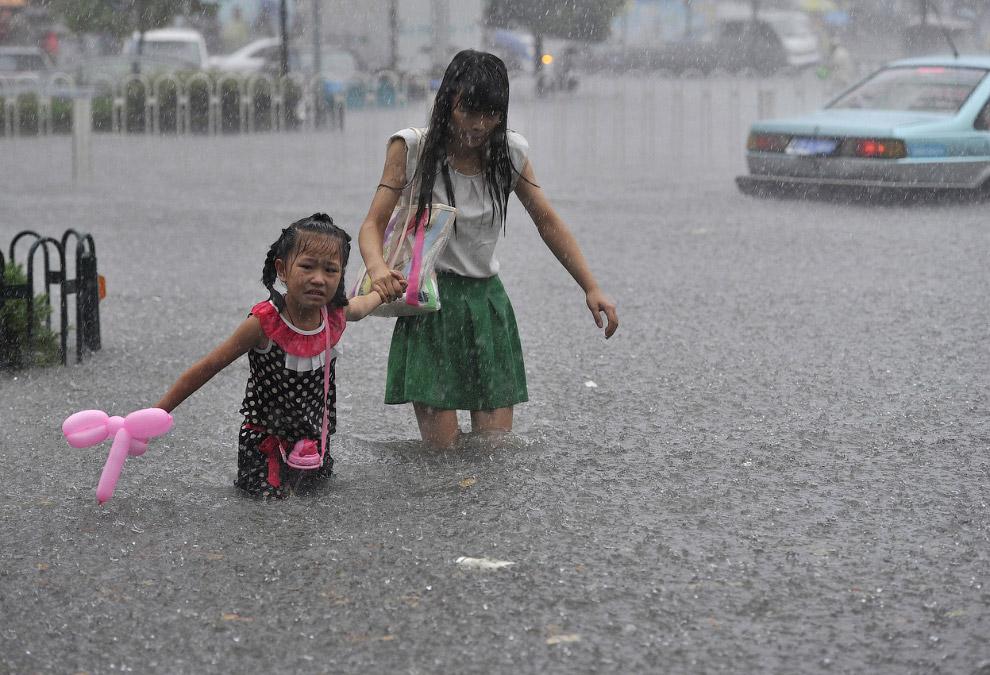Наводнение в провинции Хэфэй, Аньхой