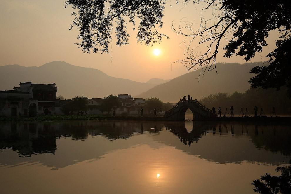 Восход в провинции Аньхой