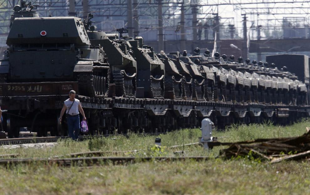 Самоходные гаубицы в Каменск-Шахтинском Ростовской области