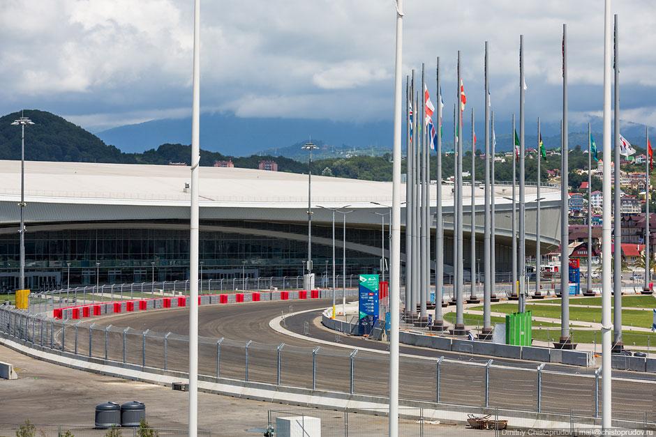 Трасса Формула-1 в Сочи