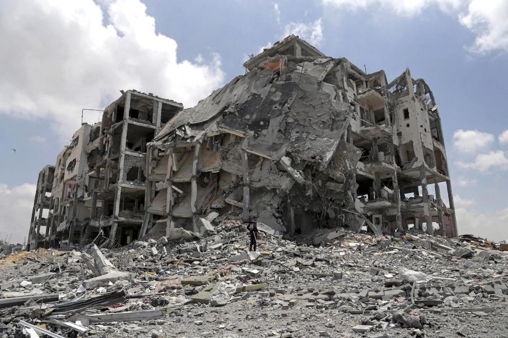Ракеты, летящие из сектора Газа в сторону Израиля