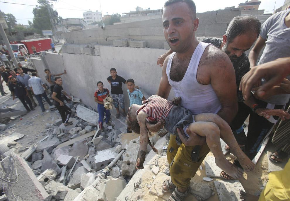 Город Хан-Юнис на юге сектора Газа