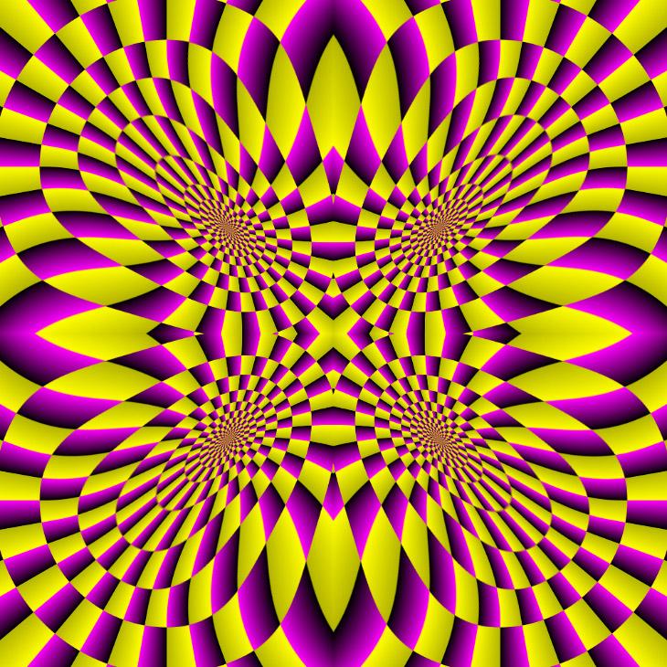 Оптические иллюзии Акиоши Китаока