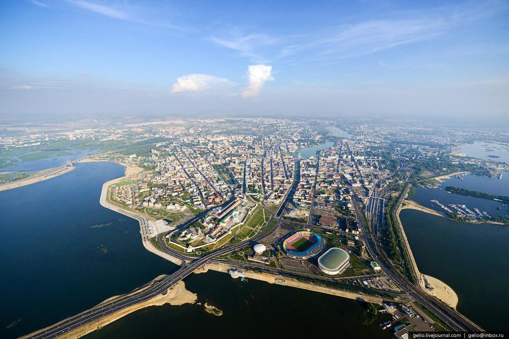 В 2005 году было отпраздновано тысячелетие Казани