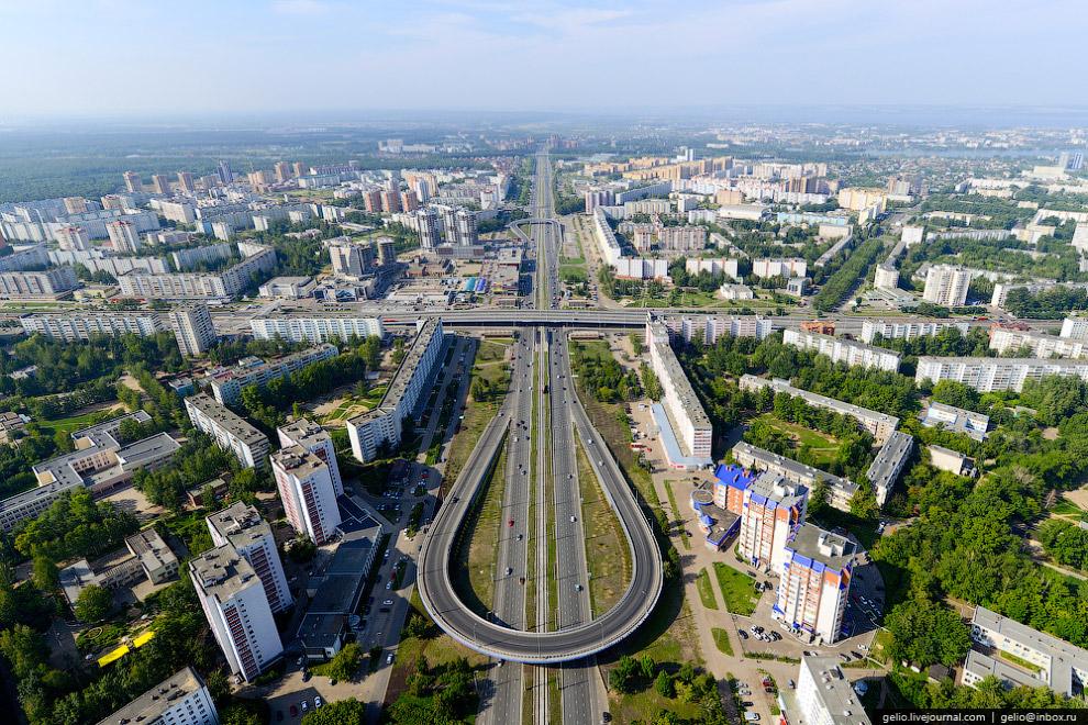 Жилой комплекс «Лазурные небеса» - самое высокое здание Казани