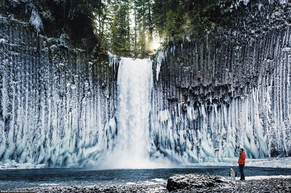 Водопад Abiqua, штат Орегон