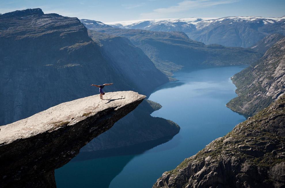 Скала «Язык Тролля», Норвегия