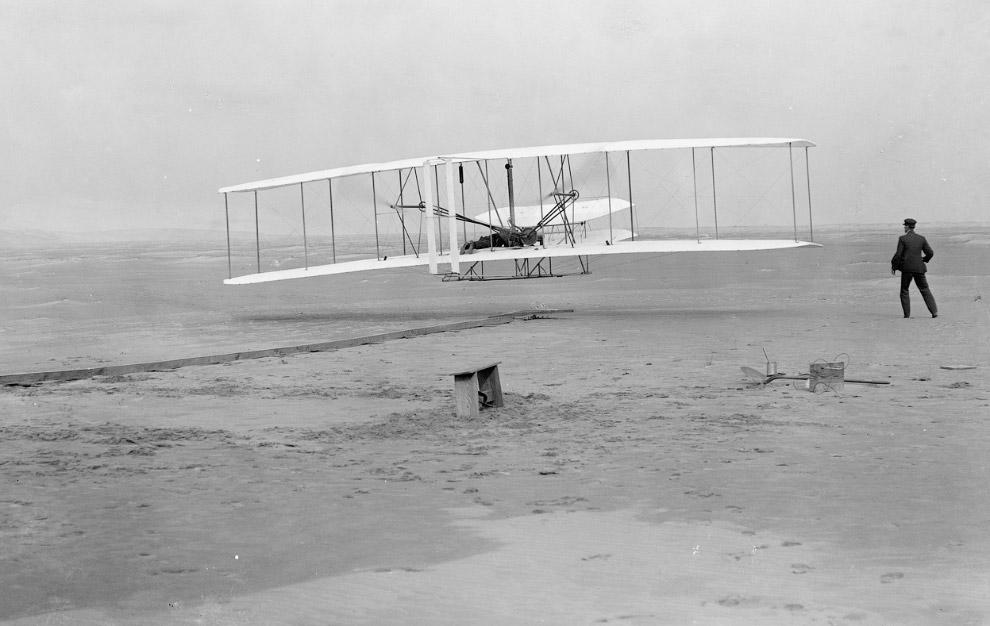 Перший політ Флайера-1