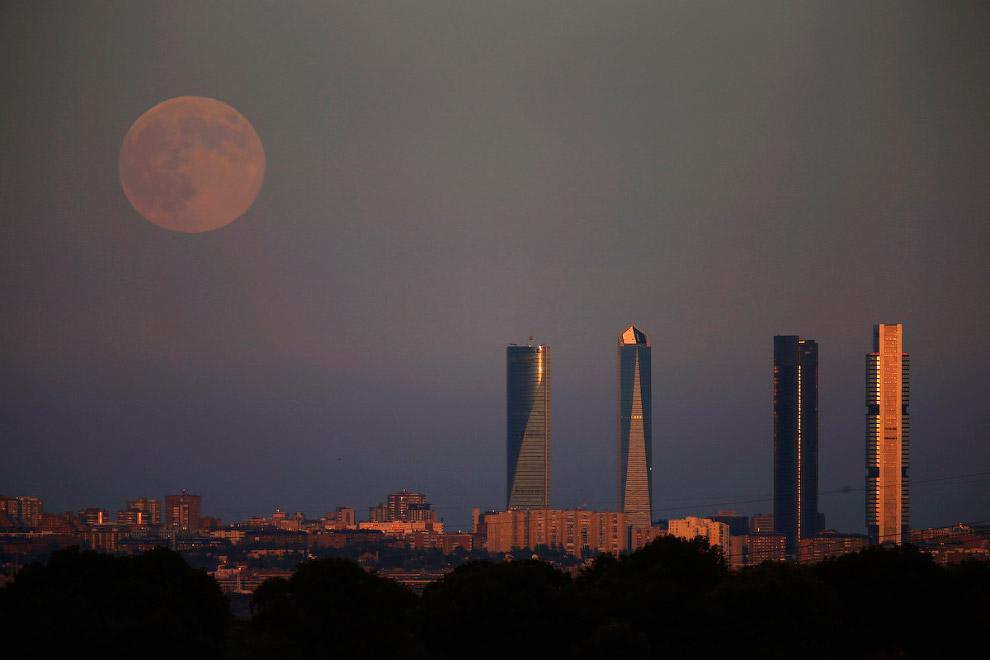 Деловой район в Мадриде