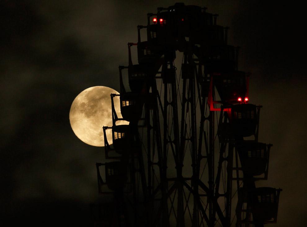 Колесо обозрения в Токио