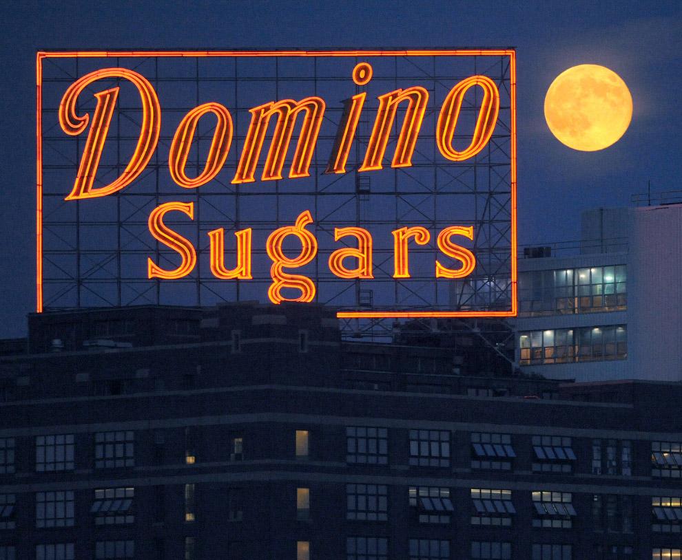 Сахарный завод в Балтиморе