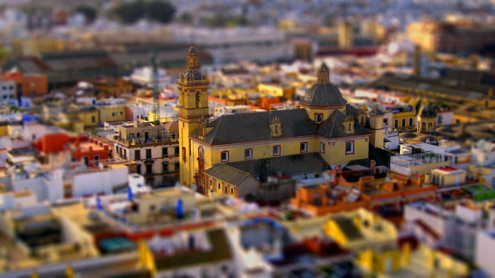 Церковь Сан-Бернардо в Испании
