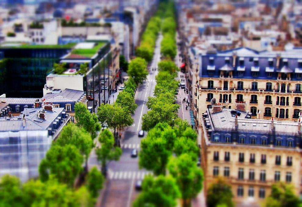 Авеню Клебер в Париже