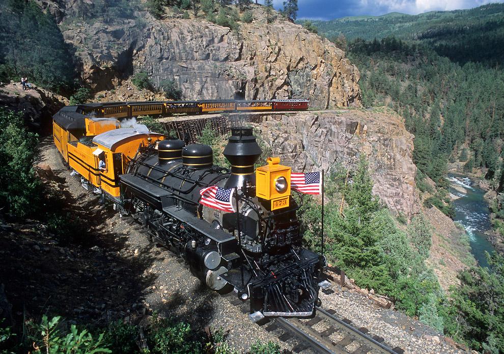 Durango and Silverton Narrow Gauge Railroad (Колорадо, США)