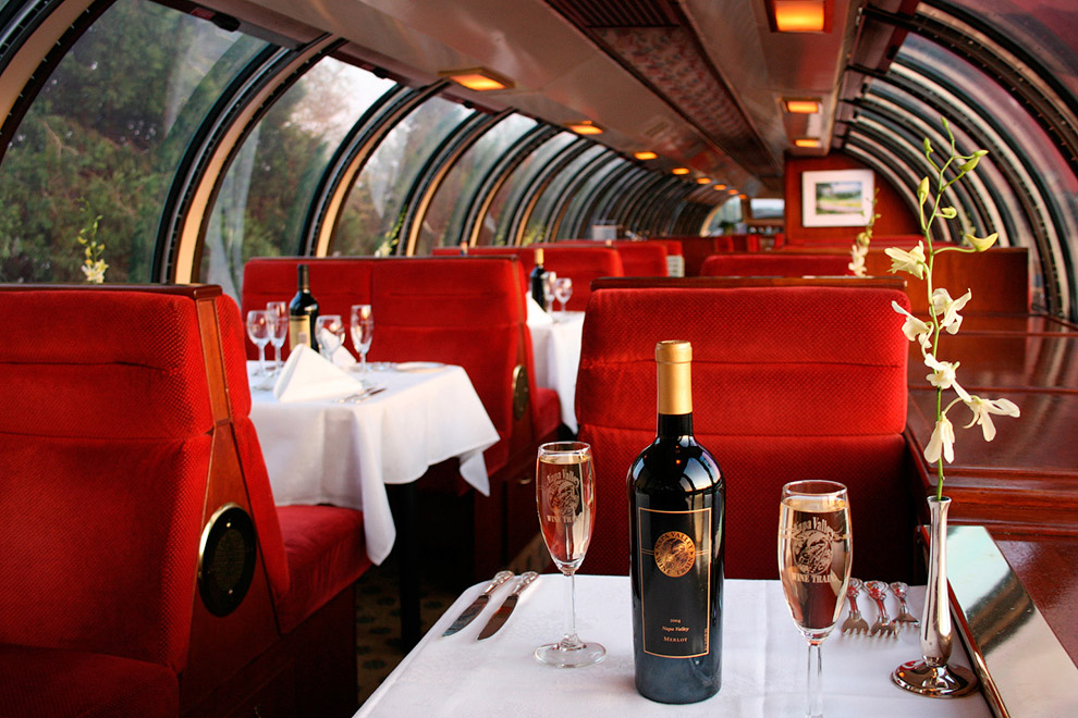 Napa Valley Wine Train (Калифорния, США)