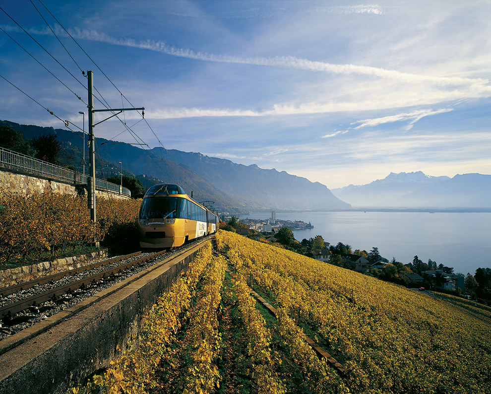 Train du Chocolat (Швейцария)