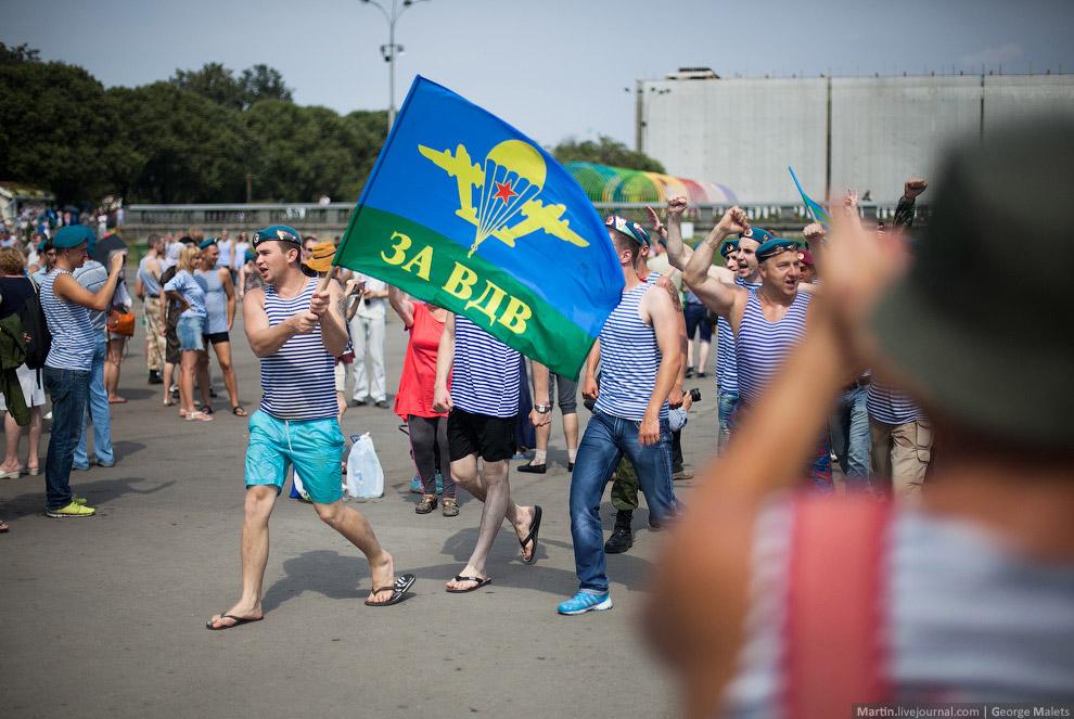 День ВДВ 2014 в Москве