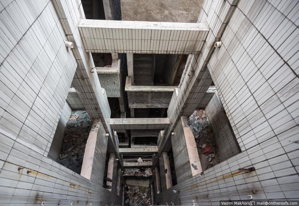 Крыши и трущобы Гуанчжоу