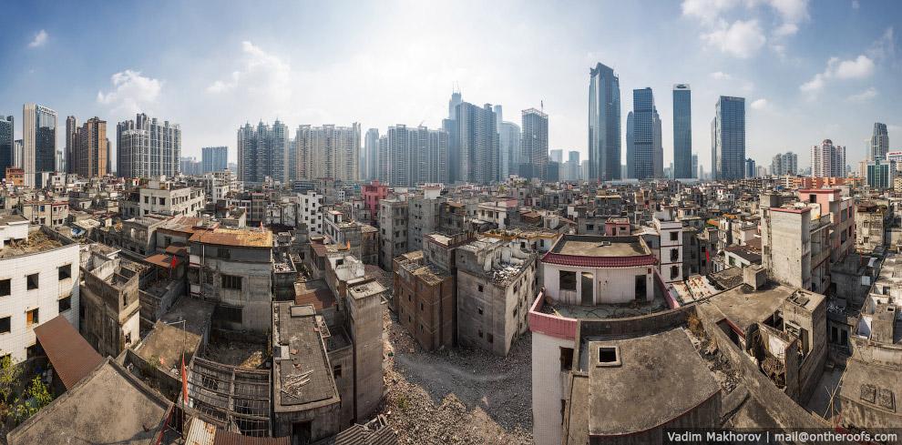 Панорама района Xian Cun
